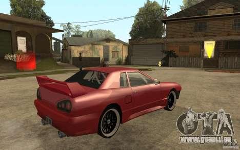 Drift Elegy pour GTA San Andreas vue de droite