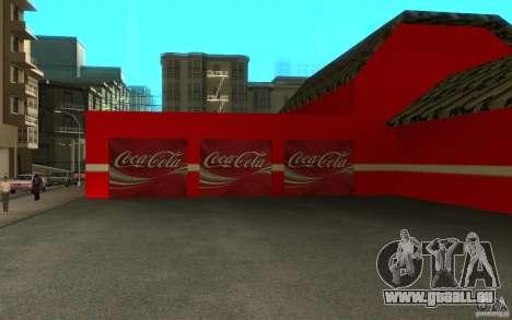 Coca Cola Market für GTA San Andreas dritten Screenshot