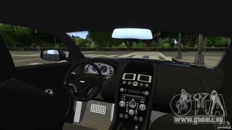 Aston Martin DBS v1.0 für GTA 4 Seitenansicht