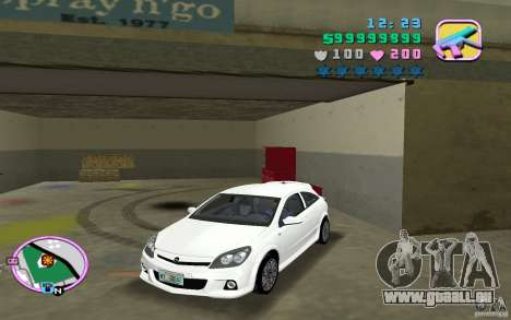 Opel Astra OPC 2006 für GTA Vice City