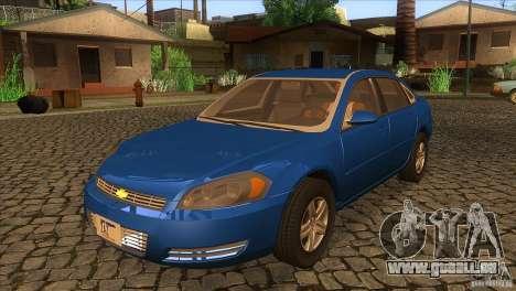 Chevrolet Impala für GTA San Andreas