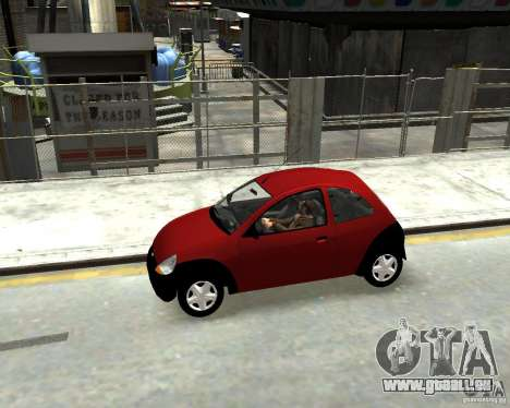 Ford Ka 1999 pour GTA 4 est une gauche