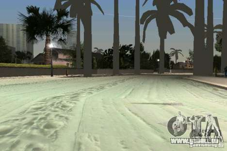 Snow Mod v2.0 für GTA Vice City fünften Screenshot