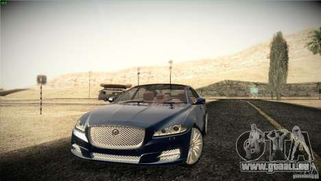 Jaguar XJ 2010 V1.0 für GTA San Andreas Räder