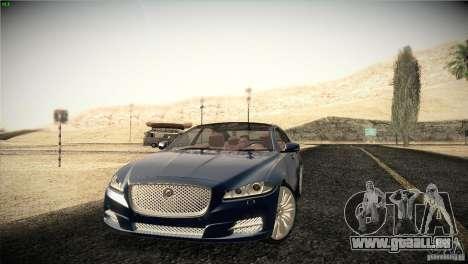 Jaguar XJ 2010 V1.0 pour GTA San Andreas roue