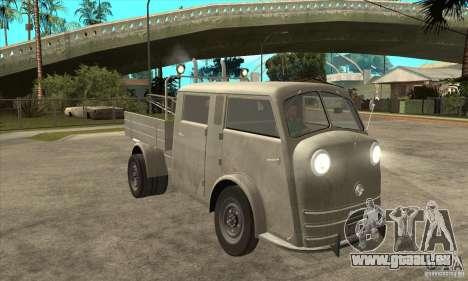 Tempo Matador 1952 Towtruck version 1.0 für GTA San Andreas Rückansicht