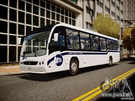 Scania K230 MTA New York City Bus für GTA 4 hinten links Ansicht
