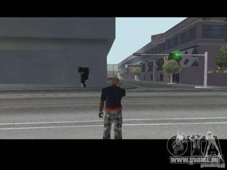 Rufen Sie Verkäufer Waffen v1. 1 für GTA San Andreas zweiten Screenshot