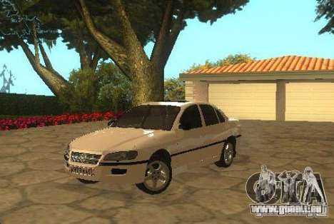 Opel Omega B 1997 für GTA San Andreas zurück linke Ansicht