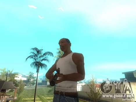 Fusil VSS Vintorez pour GTA San Andreas troisième écran