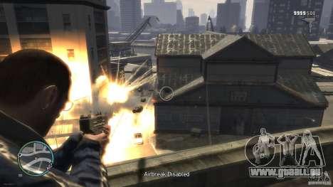 Micro Uzi Rocket Mod pour GTA 4 secondes d'écran