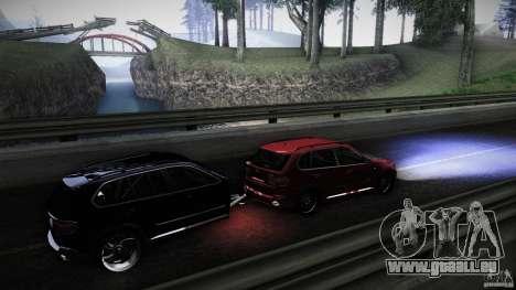 BMW X5 with Wagon BEAM Tuning für GTA San Andreas Innenansicht