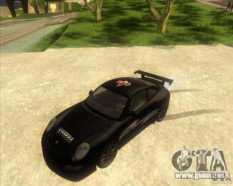 Porsche 997 GT3 RS für GTA San Andreas Innenansicht