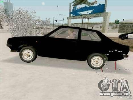 Dacia 1310 Sport pour GTA San Andreas vue de droite