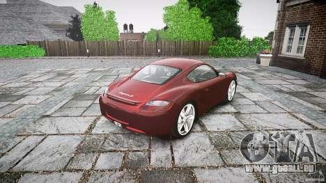 Porsche Cayman S v1 für GTA 4 Seitenansicht