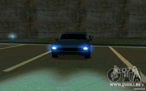 GAZ Volga 24 v2 (version bêta) pour GTA San Andreas vue arrière