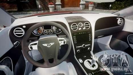 Bentley Continental SS v2.1 pour GTA 4 Vue arrière
