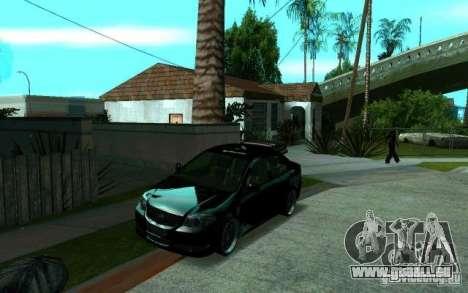 Toyota Vios pour GTA San Andreas vue arrière