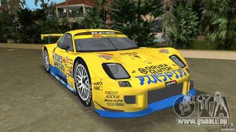 Mazda Re-Amemiya RX7 FD3S Super GT pour GTA Vice City