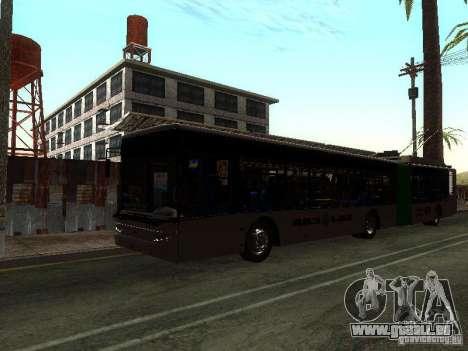 Trolleybus LAZ E301 für GTA San Andreas linke Ansicht