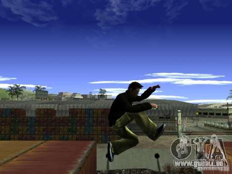 Claude HD Remake (Beta) für GTA San Andreas siebten Screenshot