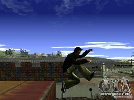Claude HD Remake (Beta) für GTA San Andreas siebten Screenshot