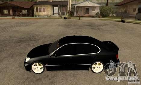TOYOTA ARISTO 2001 Jahr für GTA San Andreas linke Ansicht