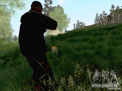 Hunting Mod pour GTA San Andreas quatrième écran