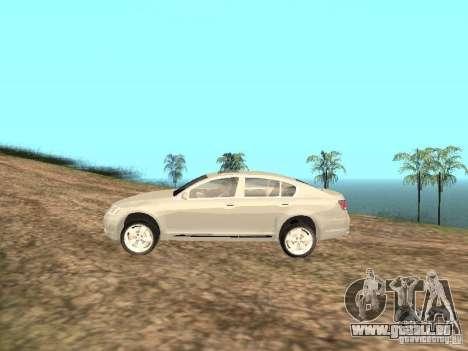 Lexus GS-350 für GTA San Andreas linke Ansicht