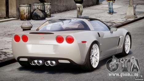 Chevrolet Corvette Grand Sport 2010 v2.0 für GTA 4 Seitenansicht