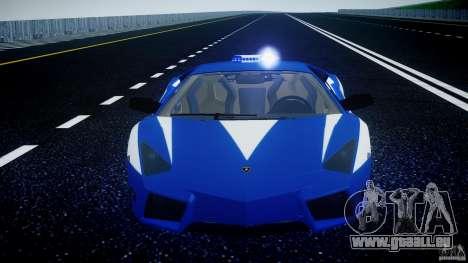 Lamborghini Reventon Polizia Italiana für GTA 4-Motor