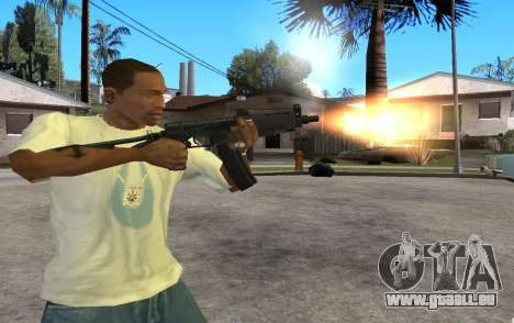 SR3M pour GTA San Andreas troisième écran