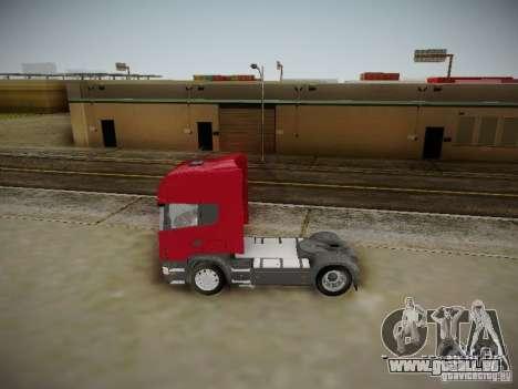 Scania R580 Topline pour GTA San Andreas laissé vue