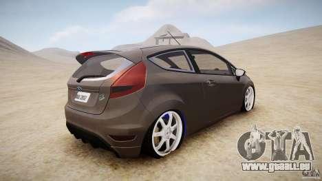 Ford Fiesta 2012 für GTA 4 hinten links Ansicht