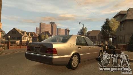 Mersedes-Benz 500SE Wheels 2 für GTA 4 linke Ansicht