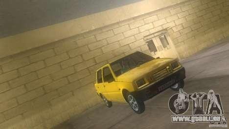 VAZ 1111 Oka Sedan pour une vue GTA Vice City de la droite