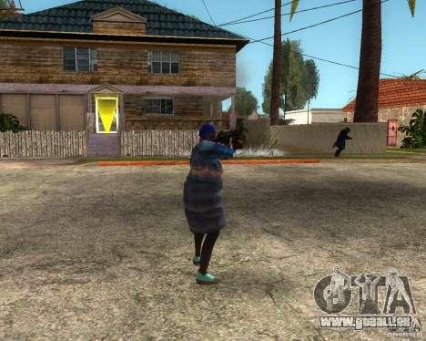 Gangsta Granny pour GTA San Andreas deuxième écran