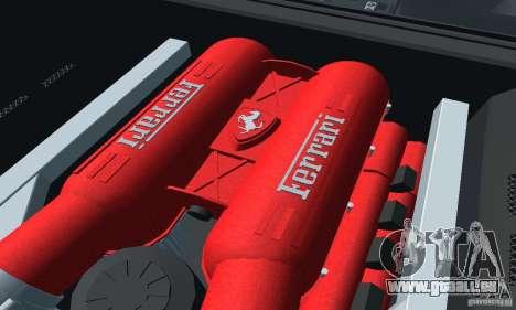 Ferrari F430 pour GTA San Andreas sur la vue arrière gauche