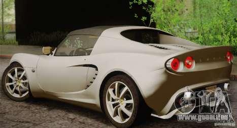 Lotus Elise 111s 2005 v1.0 für GTA San Andreas rechten Ansicht