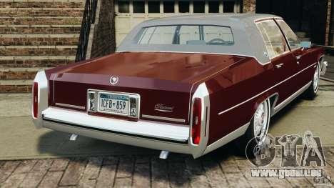 Cadillac Fleetwood Brougham Delegance 1986 pour GTA 4 est un droit