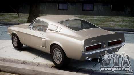 Shelby GT500 1967 für GTA 4 hinten links Ansicht