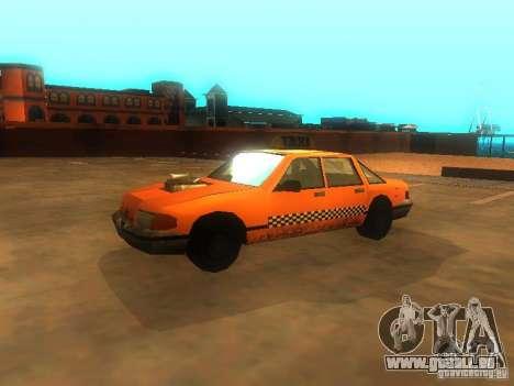 Crazy Taxi pour GTA San Andreas laissé vue
