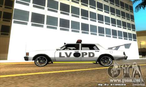 Police Hero v2.1 pour GTA San Andreas laissé vue