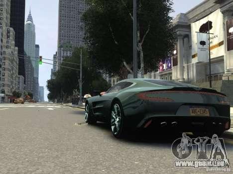 Aston Martin One 77 2012 pour GTA 4 est un droit