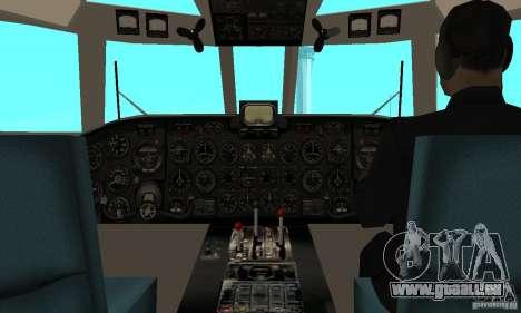 Antonow an-24 für GTA San Andreas rechten Ansicht