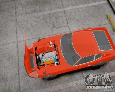 Nissan Fairlady Z HS30-240Z pour GTA 4 Vue arrière de la gauche