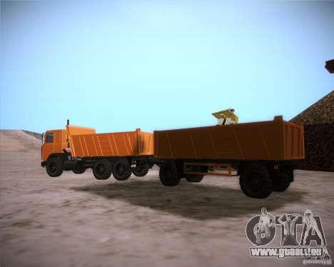 Remorque pour MAZ 6317 pour GTA San Andreas
