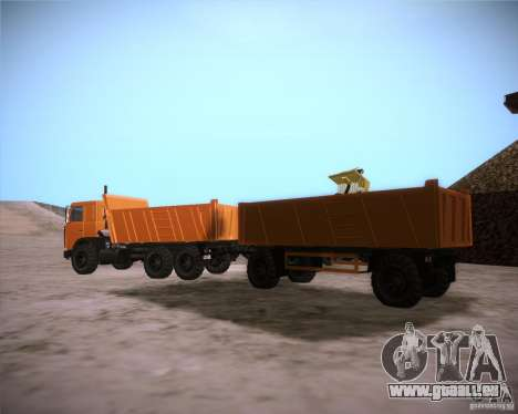 6317-MAZ für GTA San Andreas rechten Ansicht