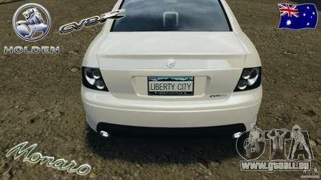 Holden Monaro CV8-R pour GTA 4