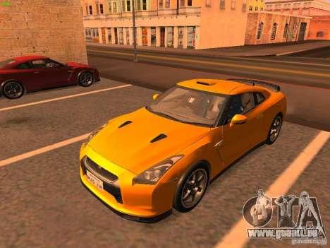 Nissan GT-R SpecV Black Revel pour GTA San Andreas
